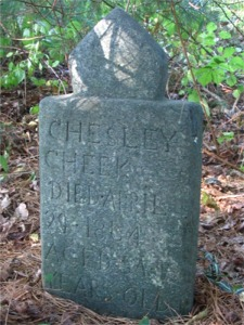 Chesley Cheek Gravestone
