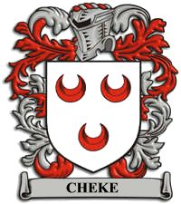 Sir John Cheke Coat of Arms