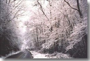 Winter on the Blue Ridge Parkway