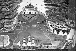 Drawing of Tidewater Plantation